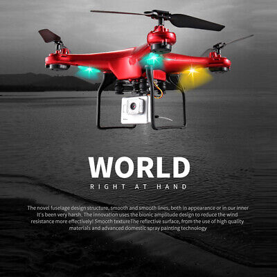 G-Sensor Wide Angle Lens 720P HD Camera RC Quadcopter Drone WiFi FPV Helicopter