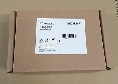 Covidien 382491 Kangaroo ePump Power Cord with International Adapters (NEW)