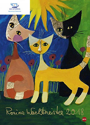 Rosina Wachtmeister Edition 2018 (Allemand) Calendrier – 9 mai 2017