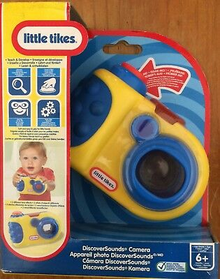 Little Tikes Discover Sounds Camera ~ New In Box