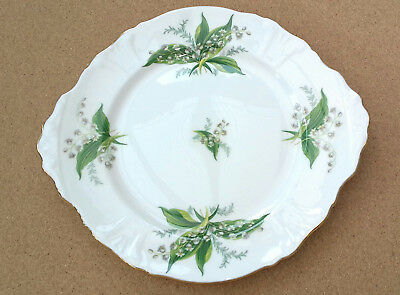 Hammersley China Lily of the valley cake plate