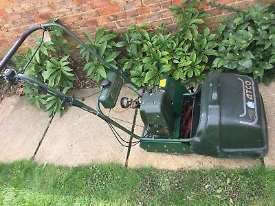 Lawn Mower Atco commodore B14 Petrol Cylinder Self Propelled