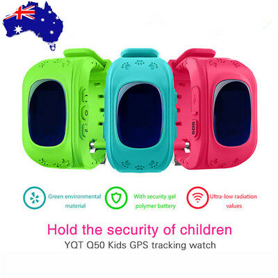 Q50 Kids Children GPS Tracker SOS Phone Call Smart Watch For iPhone Android IOS