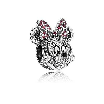 Authentic Pandora Sterling Silver Limited Edition Disney Minnie Charm 791796NCK