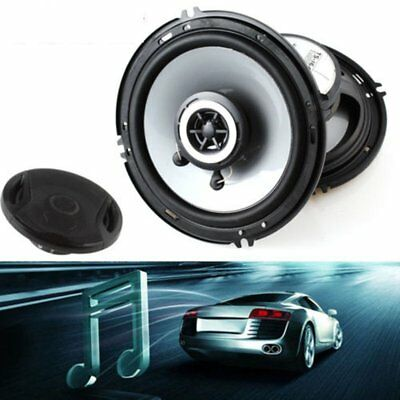 2X 4ohm 400W 6 Inch Car Door SubWoofer Coaxial Audio Music Stereo Horn Speaker A