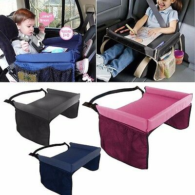 Toddler Snack Play Tray Car Seat Cover Waterproof Children Portable Travel Table