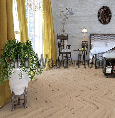 Rustic Solid Oak 70 x 21 x 500mm Unfinished Parquet Flooring
