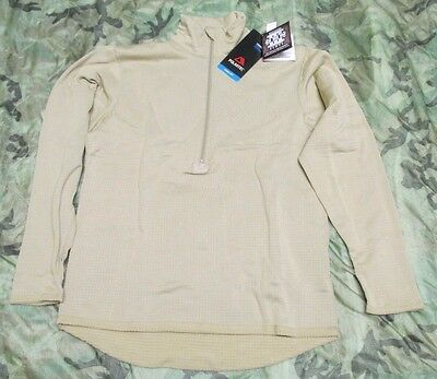 New Us Ecwcs Ads Polartec Power Dry Waffle/grid Fleece Shirt. Medium-Regular.