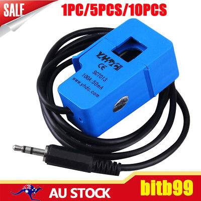 100A SCT-013-000 Non-invasive AC Current Sensor Split Core Current Transformer ~