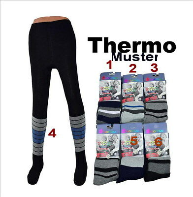 KINDER STRUMPFHOSE WARM WEICH THERMO WINTER JUNGS  FROTTEE GR.  86-92  18-24 mon
