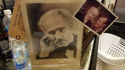 arturo toscanini 12/24/1949 signed and dated