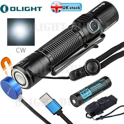 Olight M2R Warrior Rechargeable Tactical 18650 LED Torch 1500 Lumens for Hunting