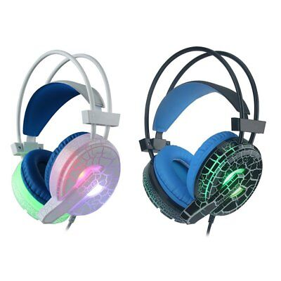 Gaming MIC LED Headset CellPhone Headphones For 3.5mm jack PS4/XboxOne Lot X#