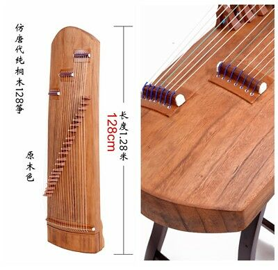 """Wooden 50"""" Traditional Chinese musical instrument Chinese zither Gu Zheng #0146"""