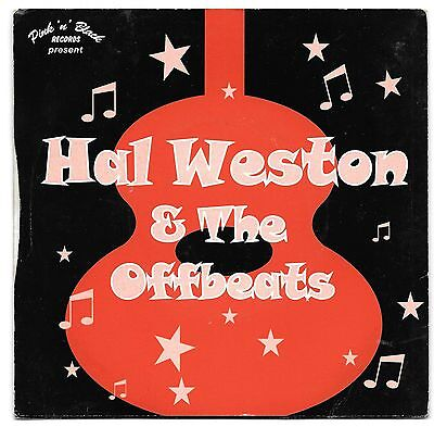 HAL WESTON & THE OFF BEATS ~ REAL GLAD DADDY ~ PINK N BLACK + COVER (1990s) NM
