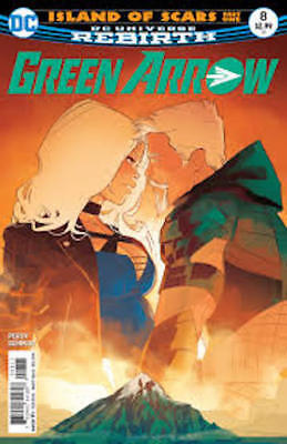 Green Arrow #8 (2016) 1St Printing Dc Comics