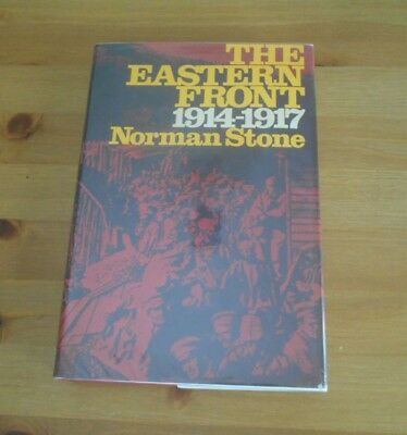 old CLASSIC WW1 EASTERN FRONT BOOK NORMAN STONE HARDCOVER