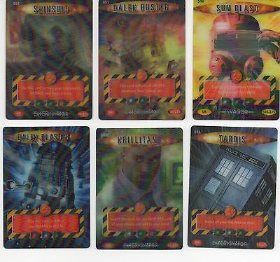 Choose Doctor Who Battles in Time ULTRA RARE CARDS and folders.