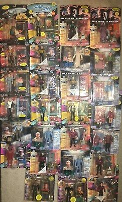 HUGE LOT of OVER 25 Figures ~ STAR TREK ~ TNG ~ DS9 ~ ORIGINAL SERIES
