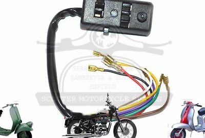 Vespa Head Light Switch Special V50 R Px 80 125 150 200 Model W/o Indi. @de