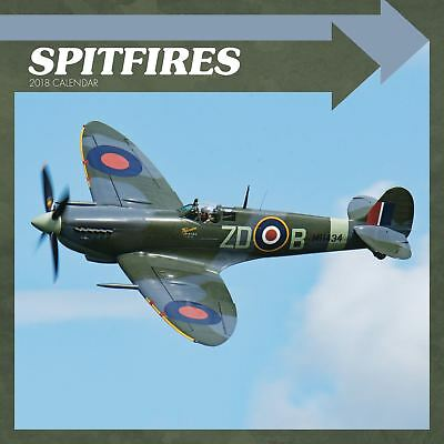 Spitfires Official 2018 Square Wall Calendar