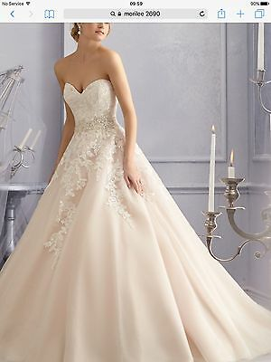 Bnwt Morilee 2690 Ivory Gown. Available In Uk6 Uk10 Uk14 Sale Offer Applies!!
