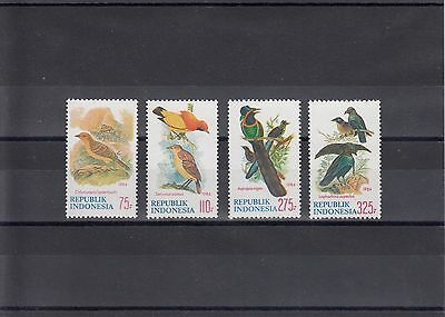 Timbre Stamp  4 Indonesie  Y&t#1042-45 Oiseau Bird Neuf**/mnh-Mint 1984 ~A26