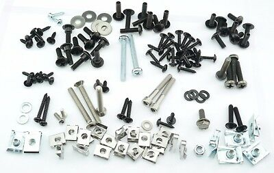 Full Set Cover Screw PIAGGIO X9 125 180 CC + Clips 126 Parts