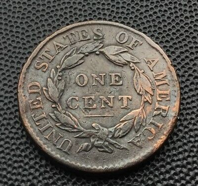 1819 United States large one cent coin