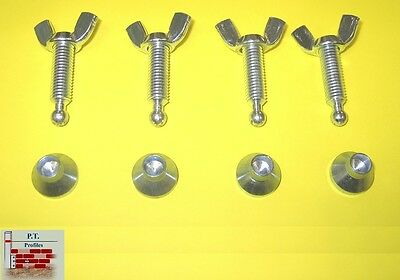 4 Winged Setting Screws PT & Faithfull Building Profiles