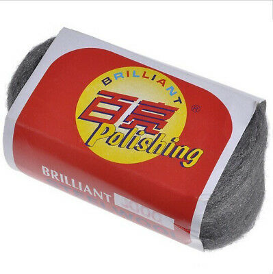 Brilliant Fine Steel Wool 0000# Grinding Polishing Cleaning Pad
