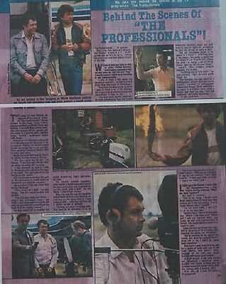 Lewis Collins Bodie Martin Shaw Professionals Behind Scenes Interview Article