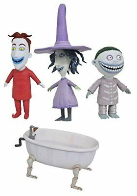 Nightmare Before Christmas Action Figures Select Lock Shock & Barrel
