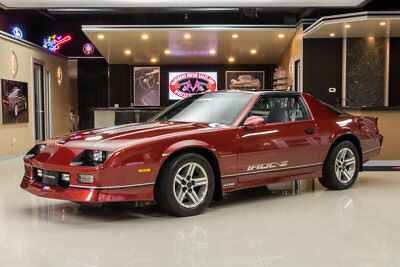 1986 Chevrolet Camaro IROC Z28 Time Capsule! All Original! 1,400 Original Miles! Full #'s Match, Documented!