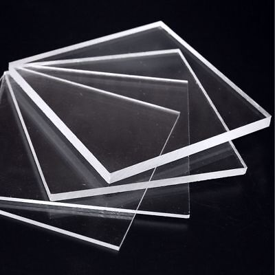 Clear Laser Cut Plastic Squares 3Mm Thick Acrylic - Perspex Plexiglass