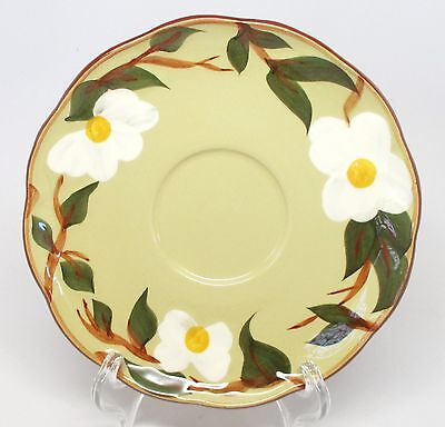 Stangl Pottery - White Dogwood - Saucer