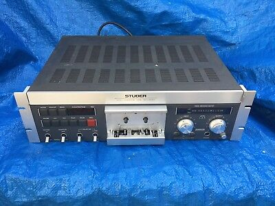 Studer A710 Cassette Tape Recorder Vintage Not Working