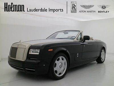 2015 Rolls-Royce Phantom DROPHEAD COUPE / CONVERTIBLE 2015 15 ROLLS ROYCE PHANTOM DROPHEAD CONVERTIBLE * CERTIFIED WARRANTY * FRIDGE