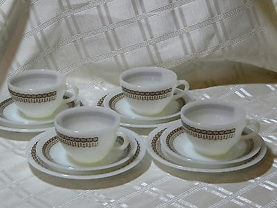 Vintage  Termocrisa Cups And Saucers