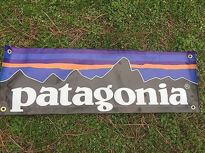 Patagonia Banner Sign Merchandising  Vinyl  3 x 1 Ft Combo Shipping Worldwide