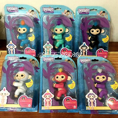 WowWee Fingerling Interactive Baby Monkey Sound Nictation Finger Motion Toy pet