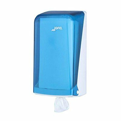 Jofel AG33200 Paper Towel Dispenser, Mini Fuse, Blue.