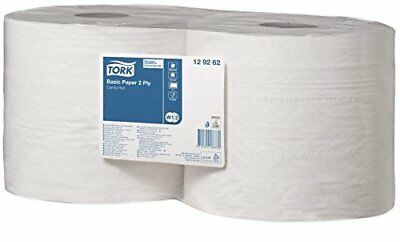 Tork Basic Wiping Paper 340 m x 235 cm, 2 x Roll of 1000 Sheets