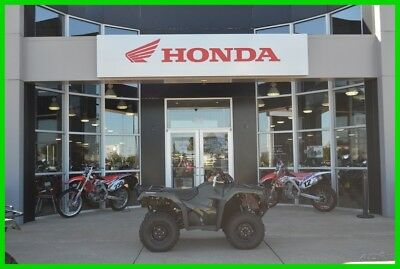 2017 Honda FourTrax Rancher 4x4 Automatic DCT IRS New