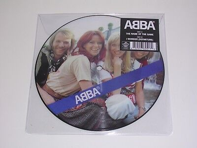 """Abba - The Name Of The Game Ltd Picture Disc 7"""" Single Mint (Pre-Order)"""