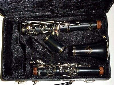 Earlham ebonite Bb clarinet