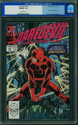 Daredevil #272 CGC 9.8 NM/MT - Off-White Pages