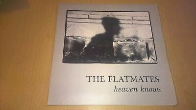 """THE FLATMATES - Heaven Knows - 7"""" INDIE POP C86 1st pressing"""