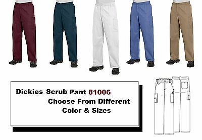 EDS Signature by Dickies Scrubs Mens Pants 81006 Pull On All Colors All Sizes