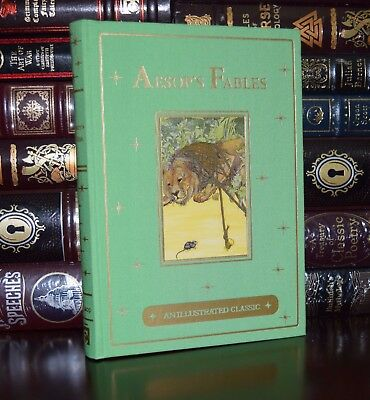 Aesop's Fables by Aesop Illustrated Billinghurst New Deluxe Gift Hardcover